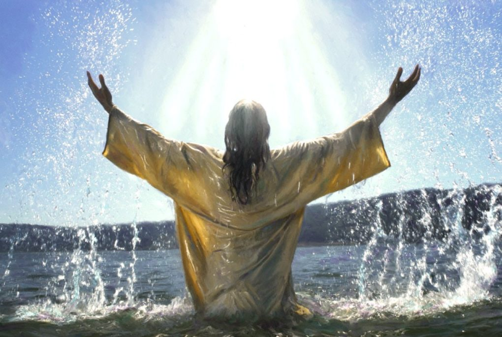 I baptize you with water, but he will baptize you with the ...